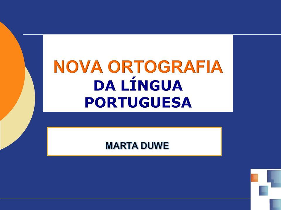 O novo Acordo Ortográfico busca um consenso, ele não modifica (e nem poderia fazê-lo) nossa forma de falar, mas procura padronizar/unificar a escrita da língua portuguesa, ou seja, mudanças apenas gráficas nos oito países da Comunidade de Países de Língua Portuguesa - CPLP: Brasil Portugal Guiné-Bissau São Tomé e Príncipe Angola Moçambique Cabo Verde Timor Leste CPLP
