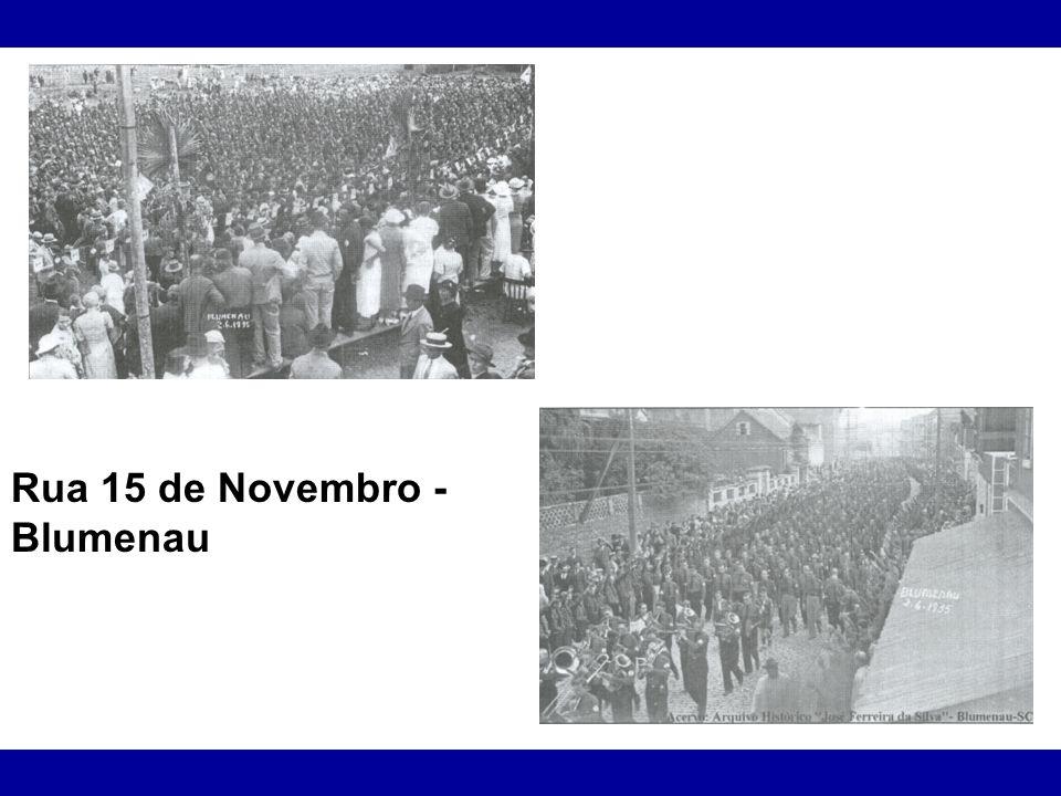 Rua 15 de Novembro - Blumenau