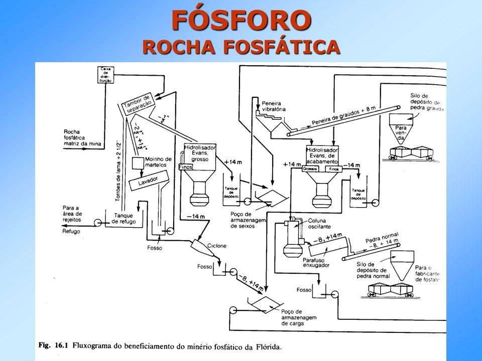 FÓSFORO ROCHA FOSFÁTICA