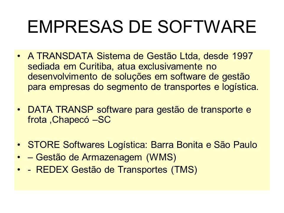 EMPRESAS DE SOFTWARE A TRANSDATA Sistema de Gestão Ltda, desde 1997 sediada em Curitiba, atua exclusivamente no desenvolvimento de soluções em software de gestão para empresas do segmento de transportes e logística.