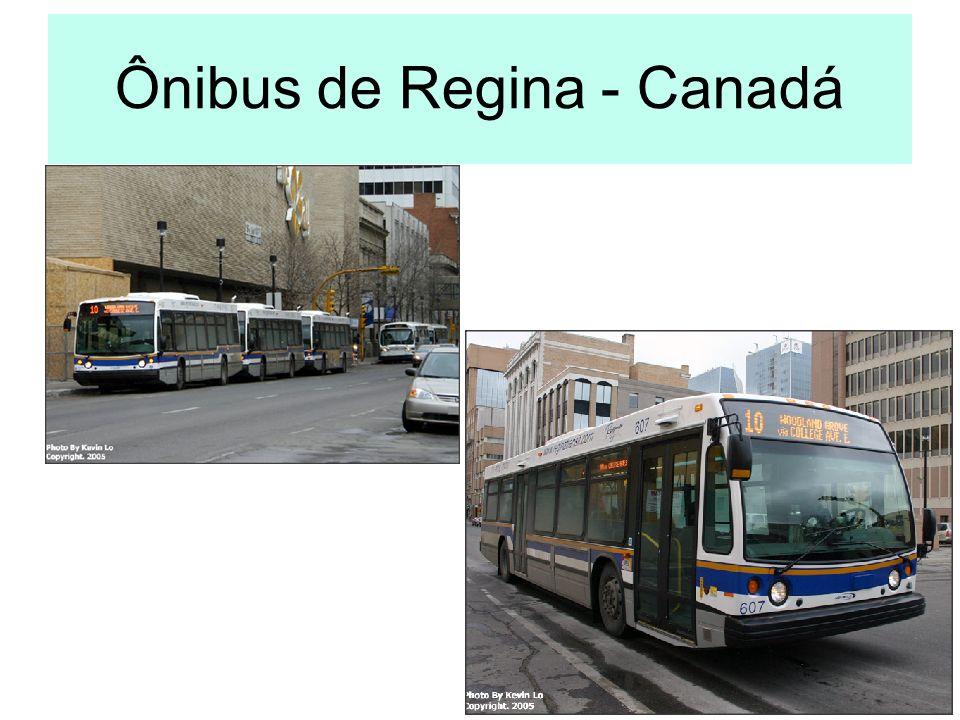 Ônibus de Regina - Canadá