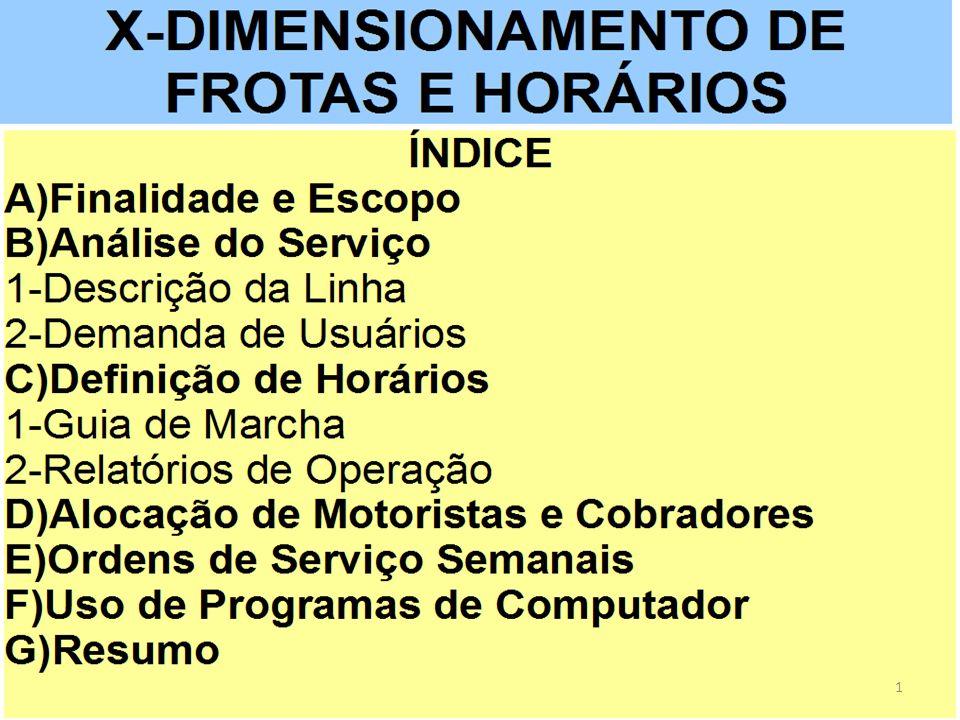 12 2.1) Horários de Operação dos Blocos