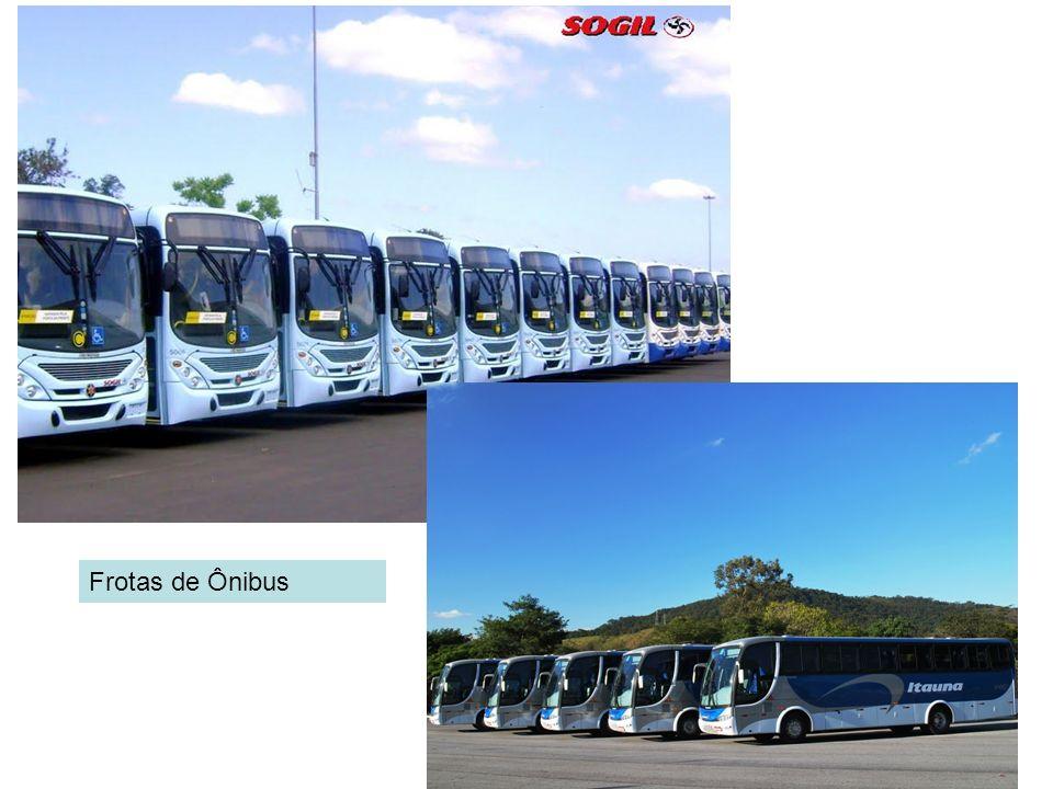 Frotas de Ônibus