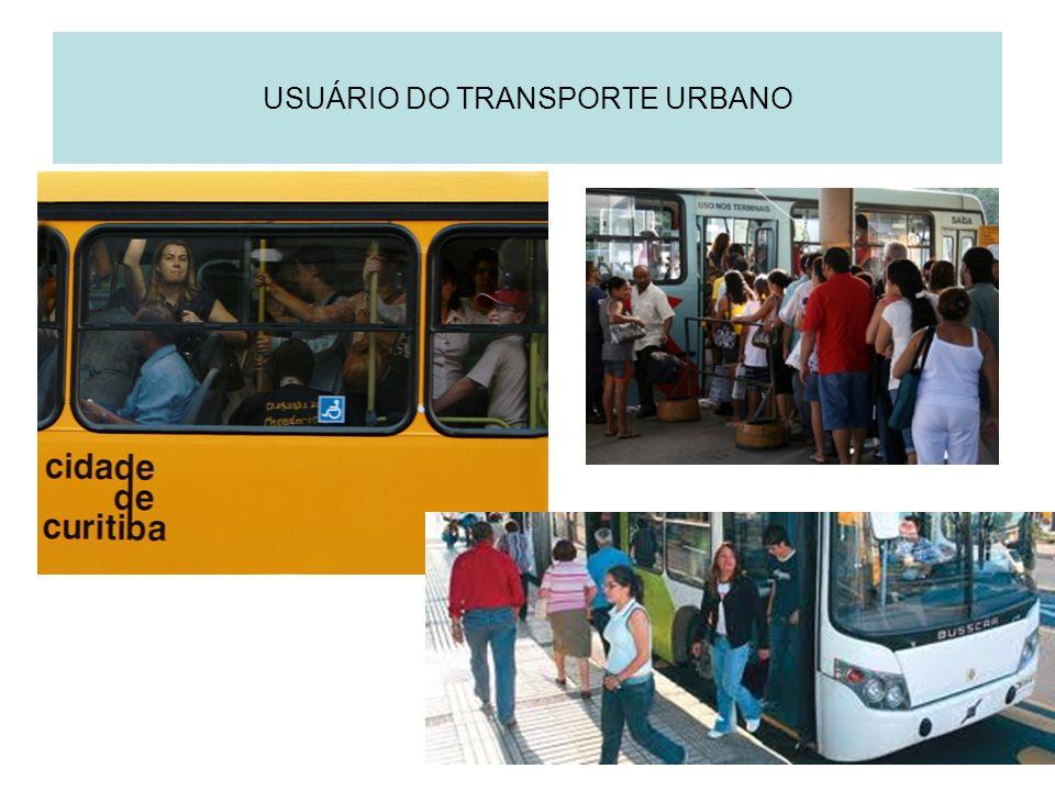 USUÁRIO DO TRANSPORTE URBANO