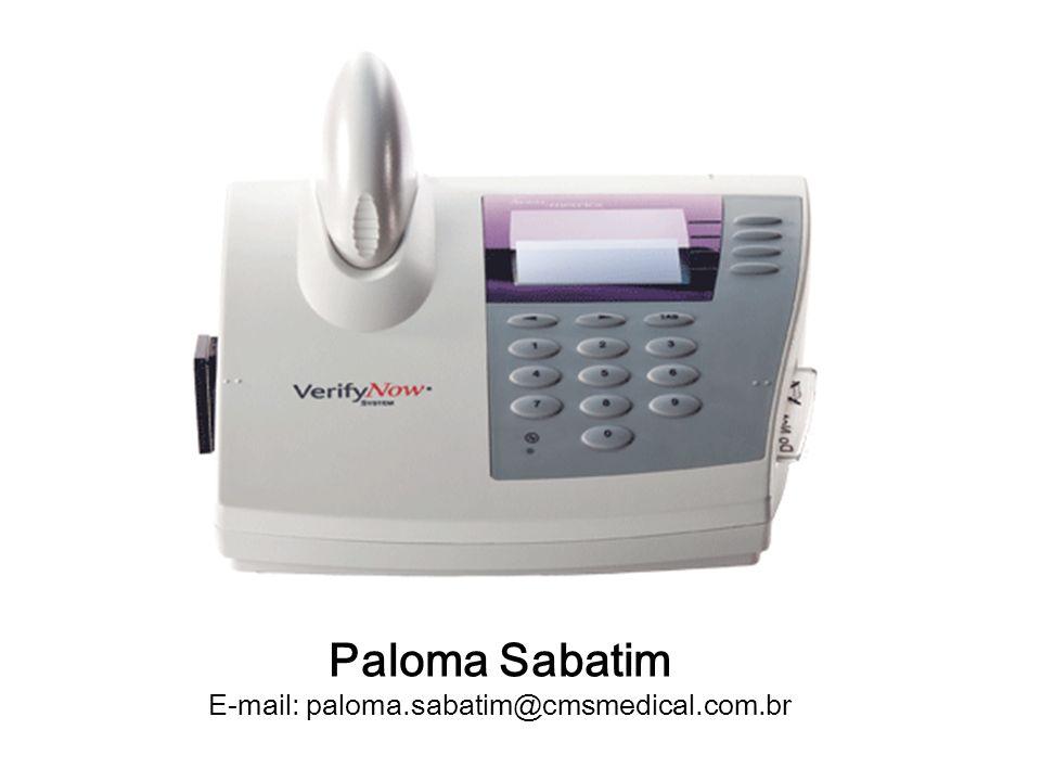 Paloma Sabatim E-mail: paloma.sabatim@cmsmedical.com.br