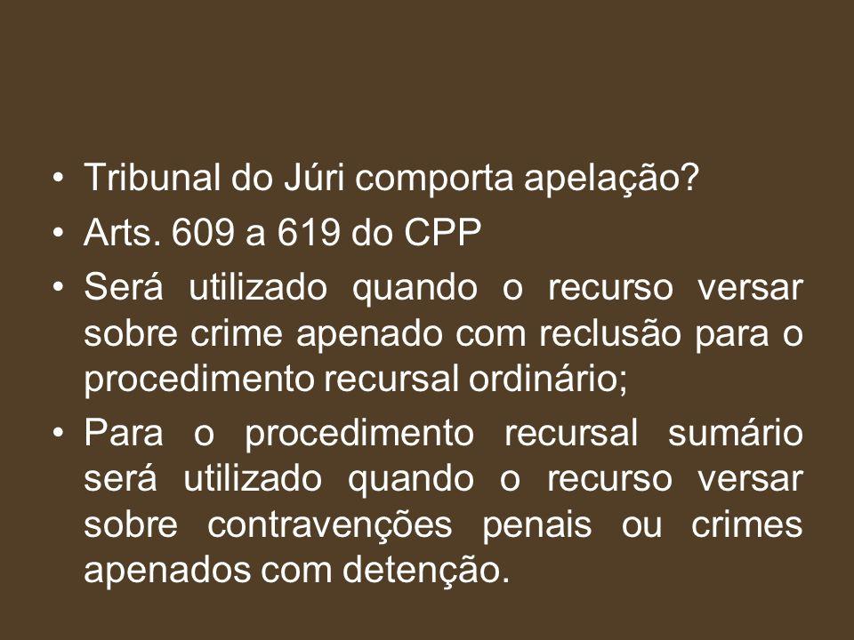 Cabe apelação (art.416 CPP) Absolvição Sumária (art.