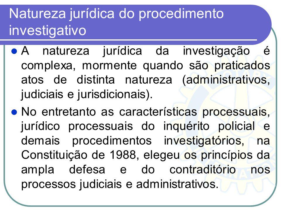 A Polícia Judiciária no Brasil remonta à 1619, quando os alcaides exercendo as suas funções nas vilas da Colônia realizavam diligências para a prisão