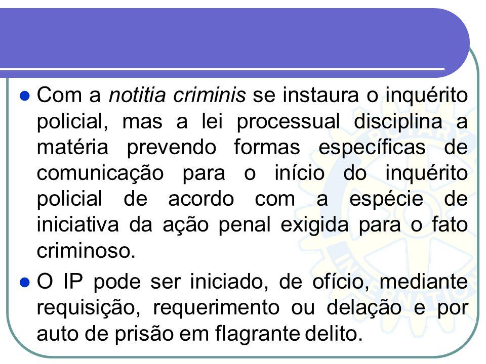 O inquérito policial é dispensável, pois a denúncia ou queixa pode ser oferecida com base em qualquer outra peça de informação (arts. 12, 39, § 5º, e