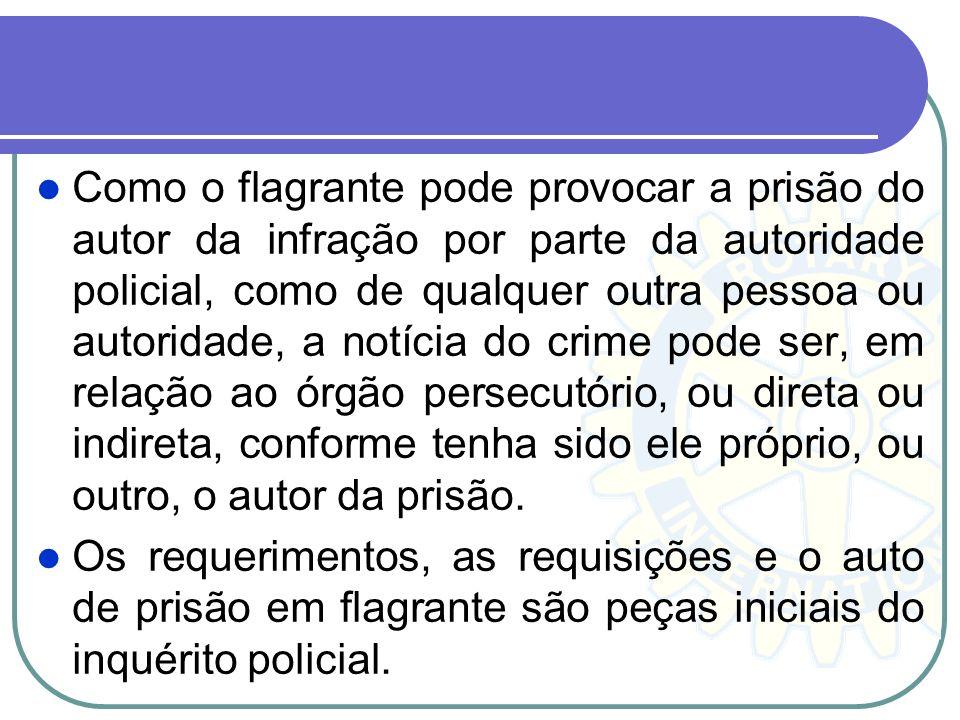 A comunicação verbal é, a forma mais comum de notícia do crime prestada pela vítima ou terceiro, cumprindo a autoridade policial, nessa hipótese, dete