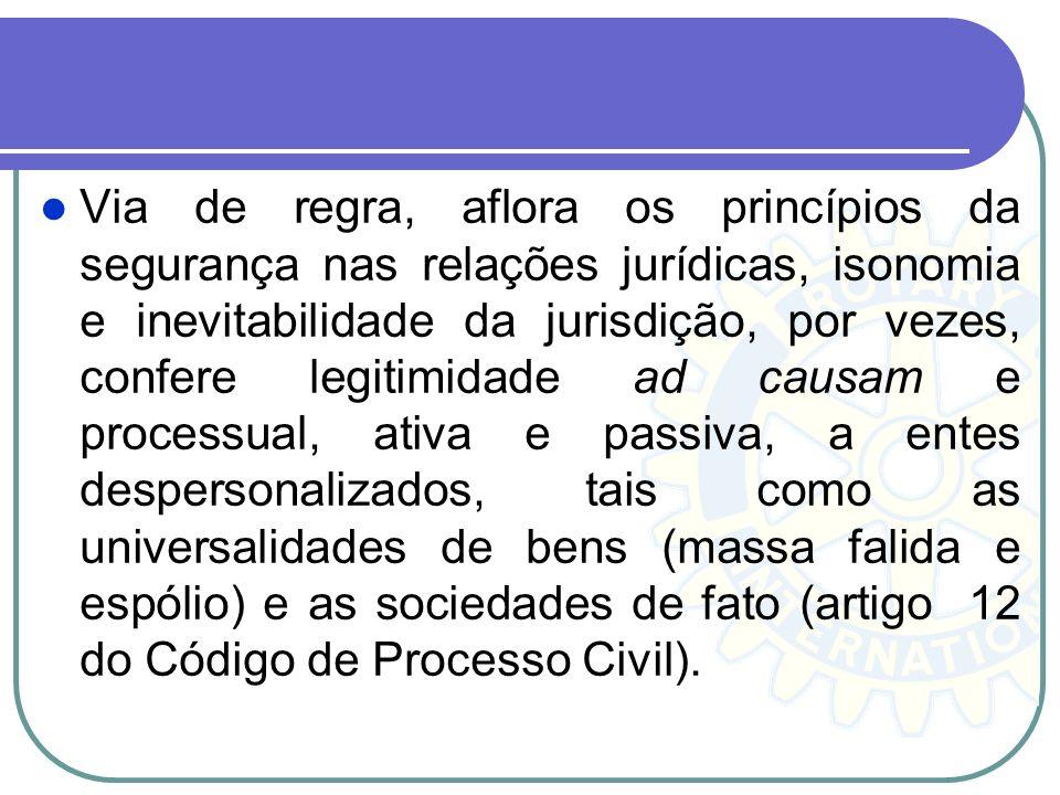 Capacidade processual e capacidade postulatória A capacidade processual e a capacidade de exercício do direito de invocar o Judiciário para a resoluçã