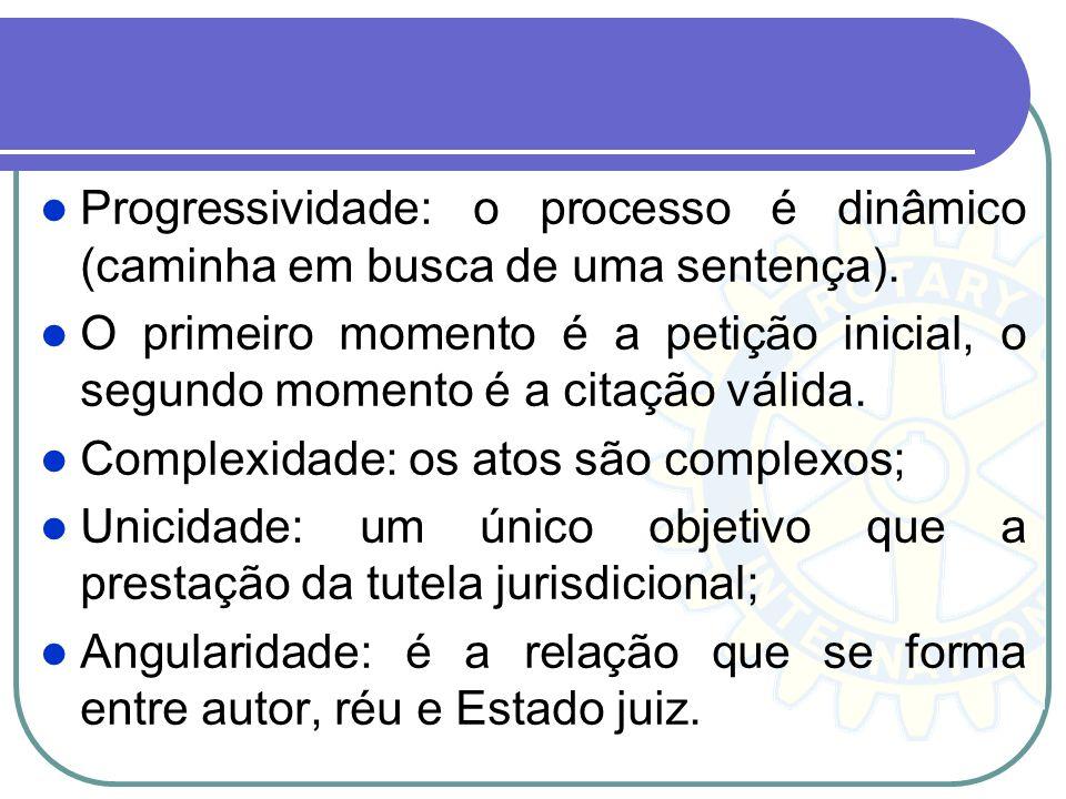 Jurisconsultos medievais – empregavam a palavra iudicium para reportar-se a conexão dos atos do processo. Iudicium est actus trium personarum, iudicis
