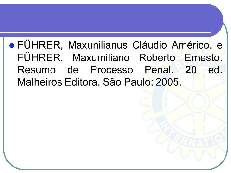 Bibliografia Complementar JESUS, Damásio Evangelista de. Código de Processo Penal Anotado. São Paulo: Saraiva, 2008. NORONHA, Edgar Magalhães. Manual