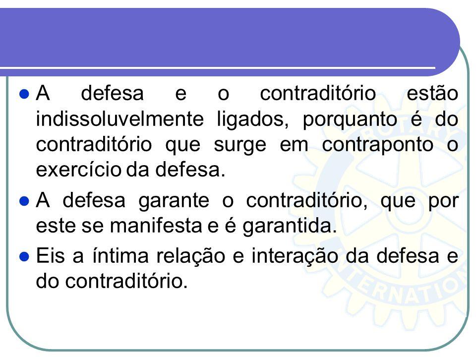 Princípios do Contraditório e da Ampla Defesa Os princípios do contraditório e da ampla defesa encontram previsão expressa no art. 5º, LV da CF/88, qu