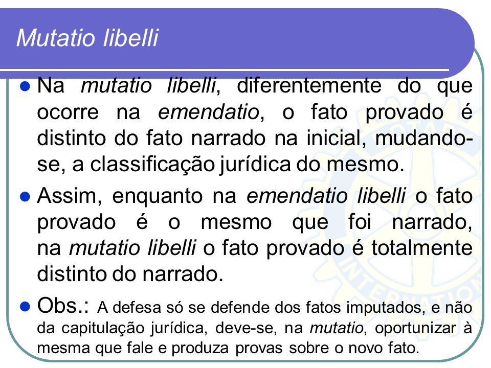 Emendatio libeli (Redação dada pela Lei nº 11.719, de 2008). Art. 383. O juiz, sem modificar a descrição do fato contida na denúncia ou queixa, poderá