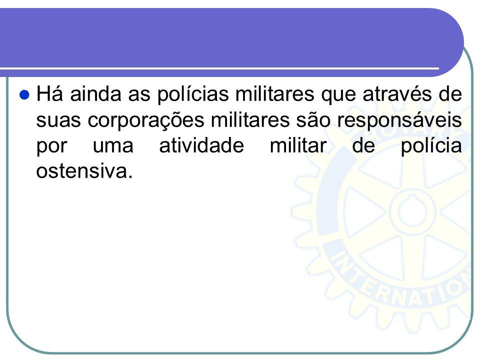 A função de autoridade policial implica normalmente a aplicação da lei, a proteção das pessoas e da propriedade e a manutenção da ordem pública. Aos a