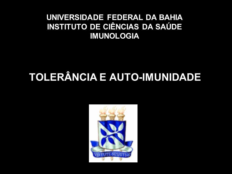 TOLERÂNCIA CENTRAL EM LINFÓCITOS B