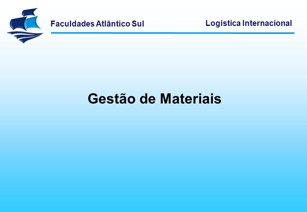 Faculdades Atlântico Sul Logística Internacional Fluxos Logísticos