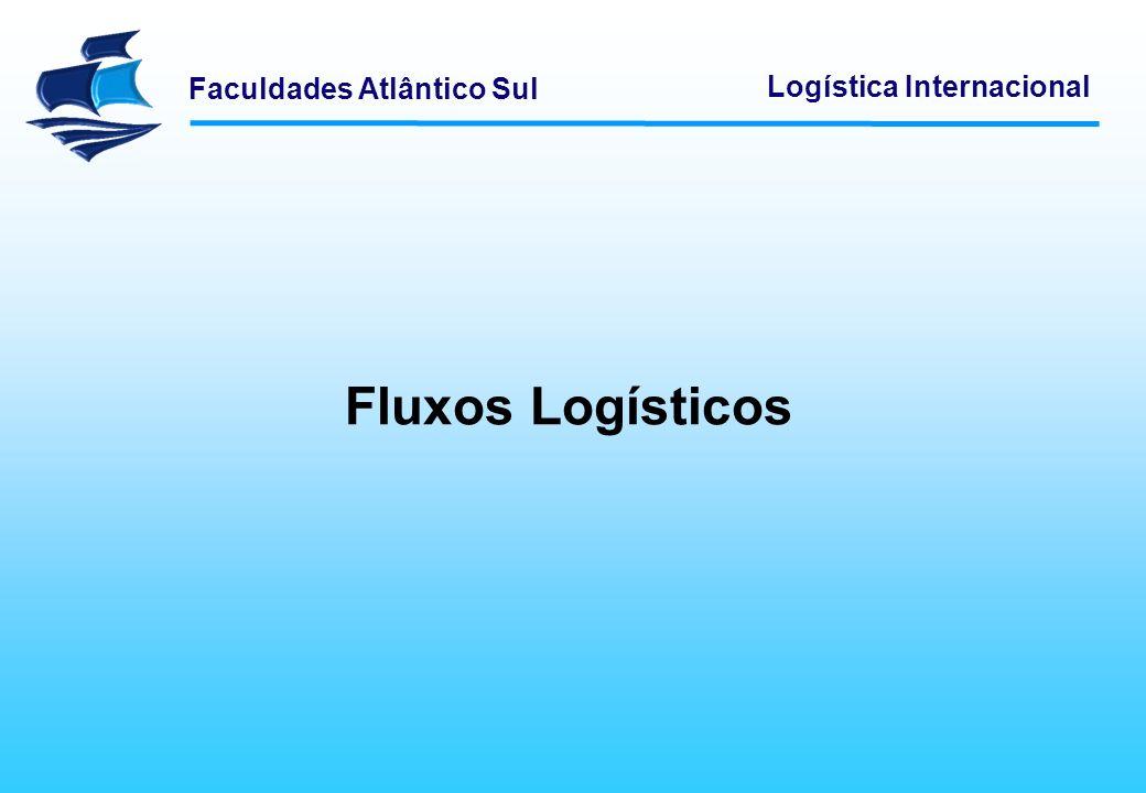 Faculdades Atlântico Sul Logística Internacional As configurações dos fluxos logísticos são modificadas de acordo com o tamanho da empresa.