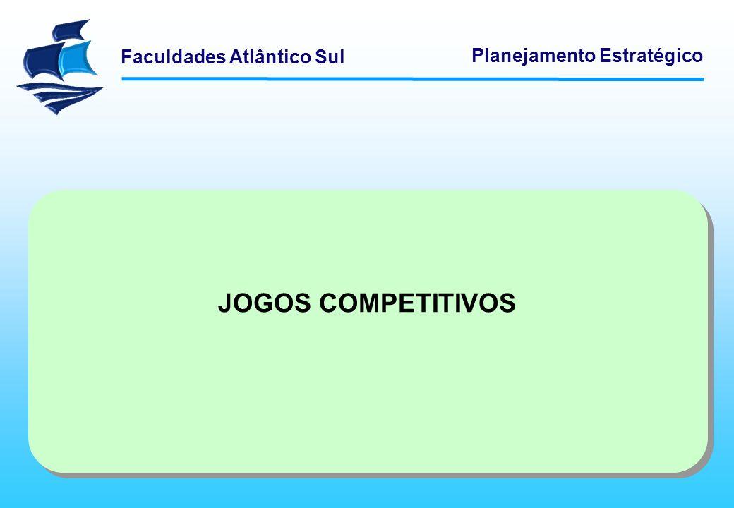 Faculdades Atlântico Sul Planejamento Estratégico JOGOS COMPETITIVOS