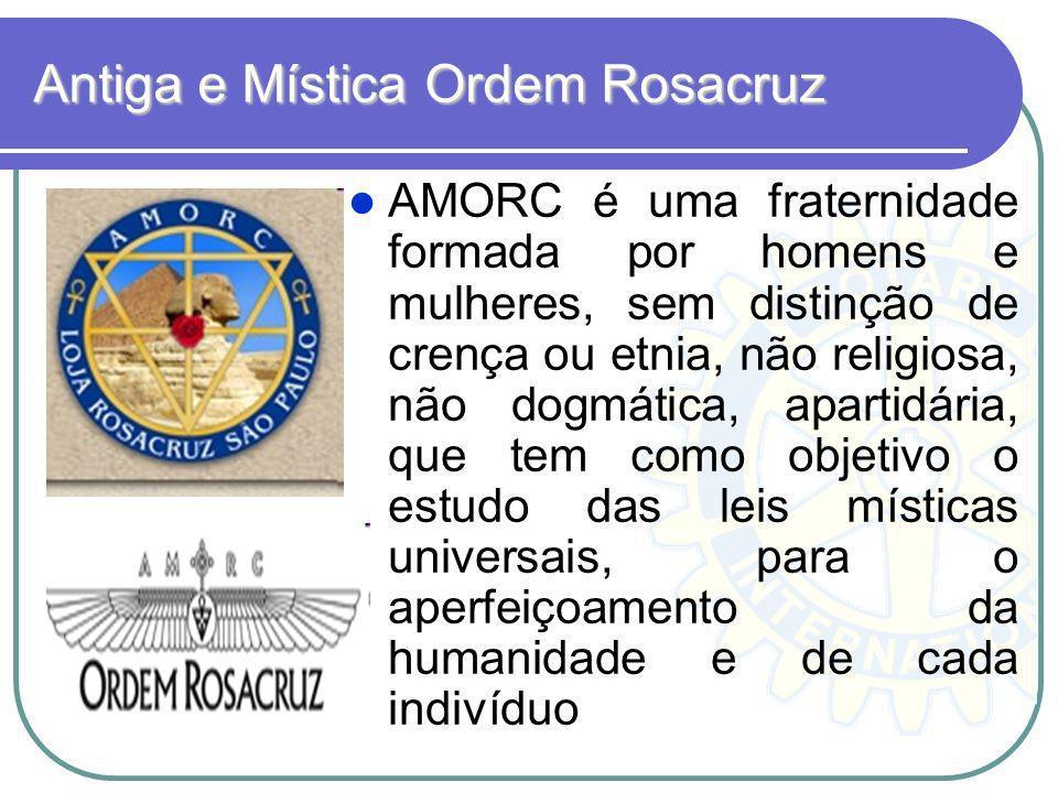 A Ordem Rosacruz, AMORC é uma organização internacional de caráter místico- filosófico, que tem por missão despertar o potencial interior do ser humano, auxiliando- o em seu desenvolvimento, em espírito de fraternidade, respeitando a liberdade individual, dentro da Tradição e da Cultura Rosacruz.