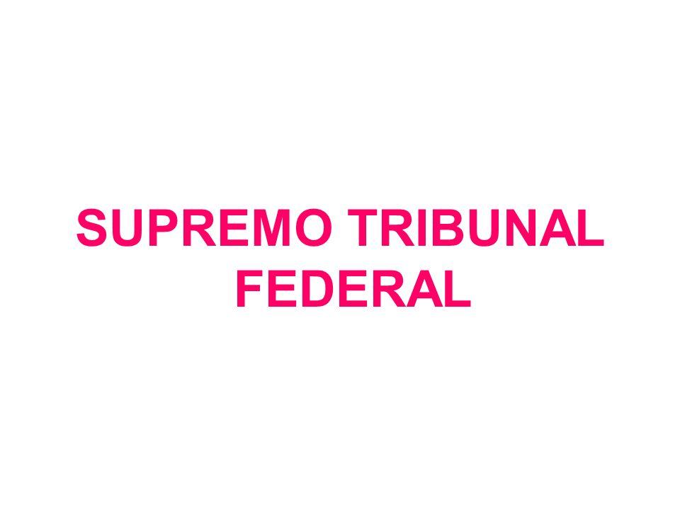 O Supremo Tribunal Federal é o órgão de cúpula do Poder Judiciário, e a ele compete, precipuamente, a guarda da Constituição, conforme definido na Constituição Federal.
