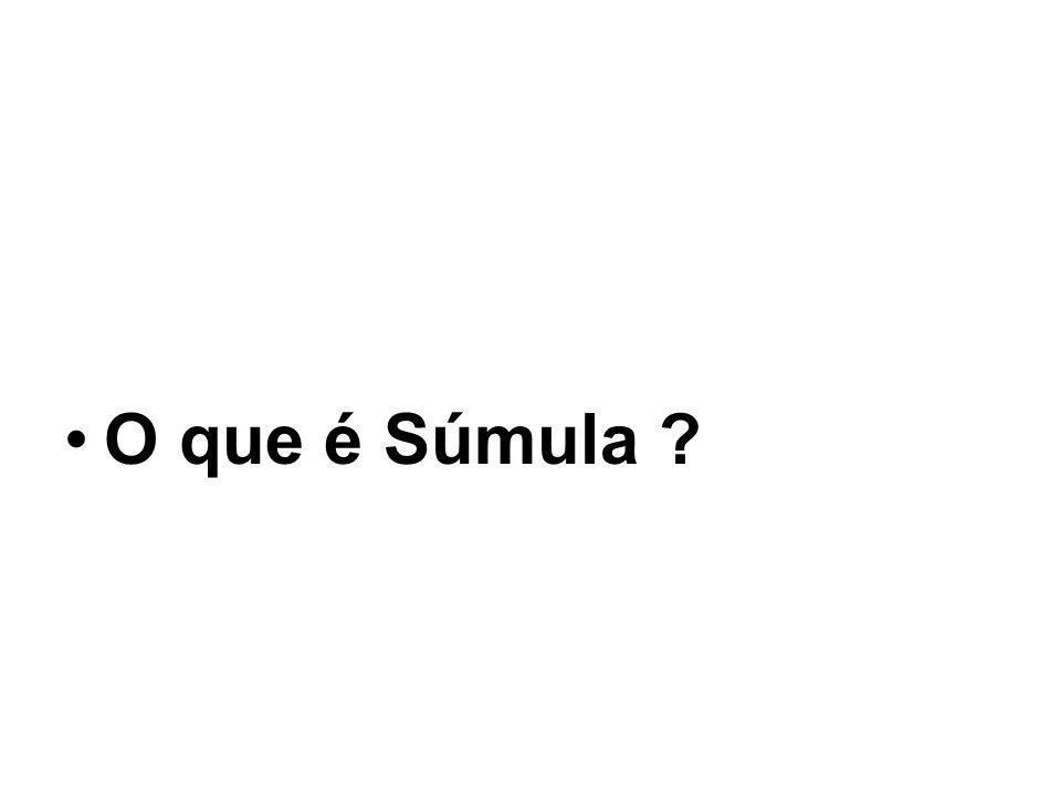 O que é Súmula ?