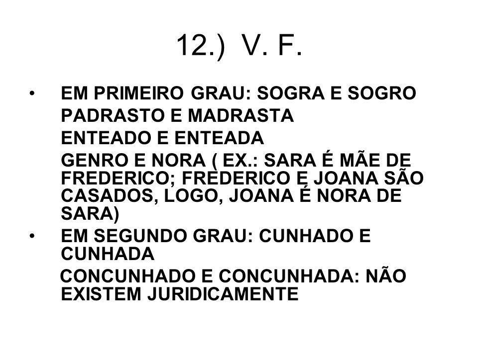 12.) V.F.