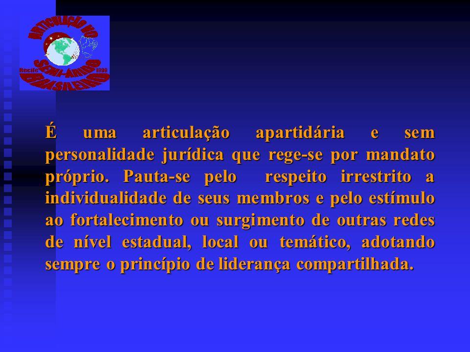 CARTA DE PRINCÍPIOS É um espaço de articulação política regional da sociedade civil organizada do semi- árido.