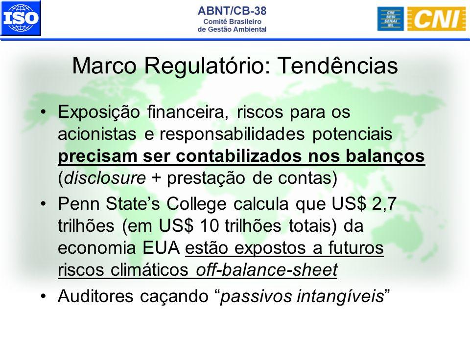 Exposição financeira, riscos para os acionistas e responsabilidades potenciais precisam ser contabilizados nos balanços (disclosure + prestação de con