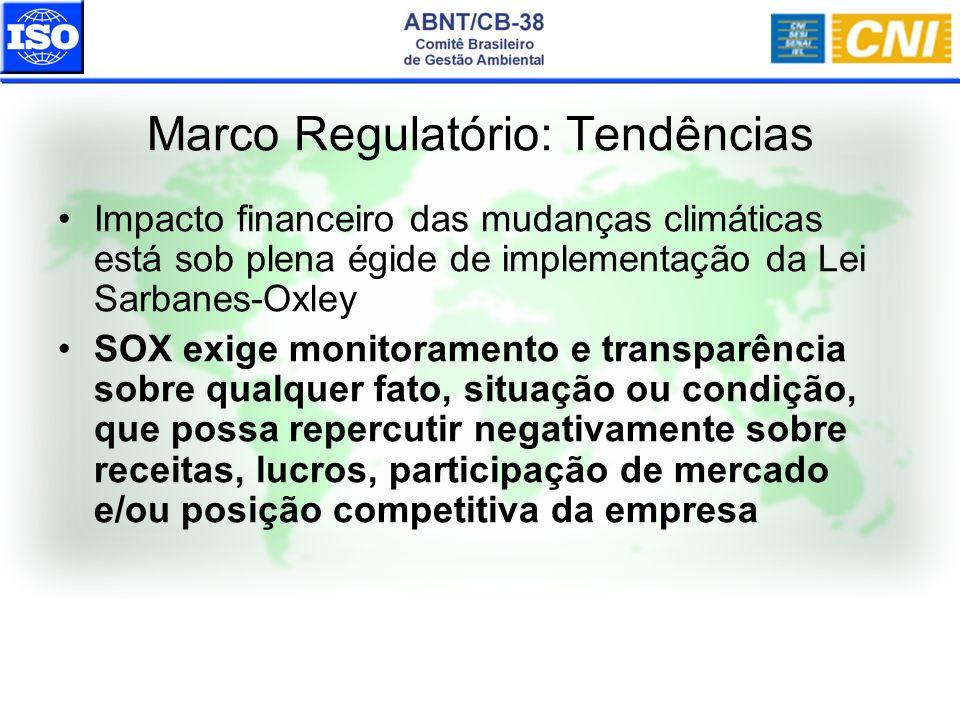 Impacto financeiro das mudanças climáticas está sob plena égide de implementação da Lei Sarbanes-Oxley SOX exige monitoramento e transparência sobre q