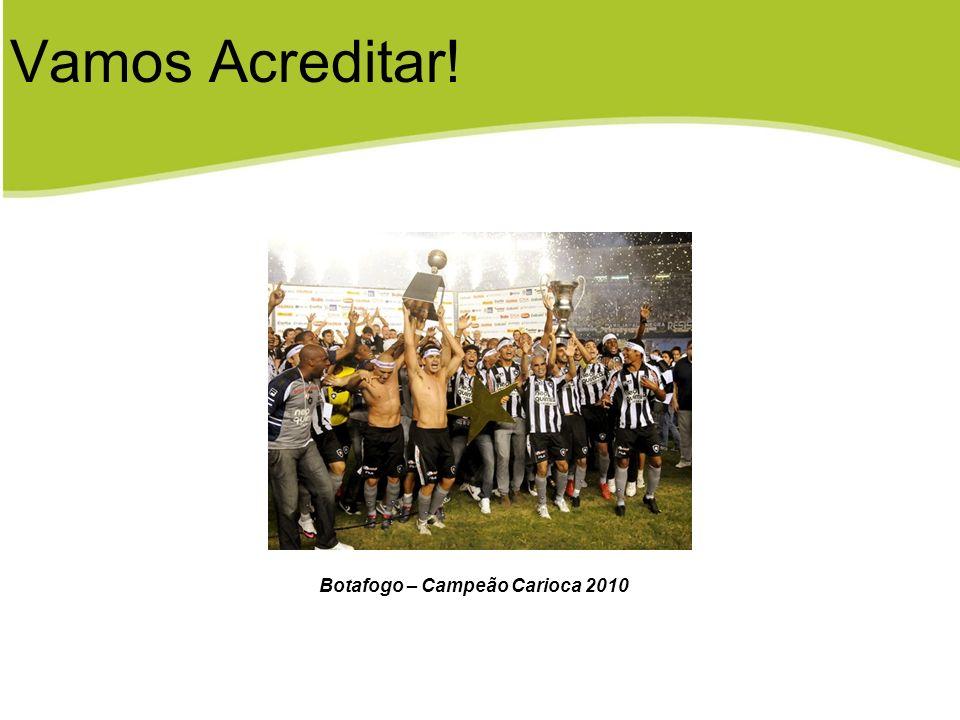 Botafogo – Campeão Carioca 2010 Vamos Acreditar!