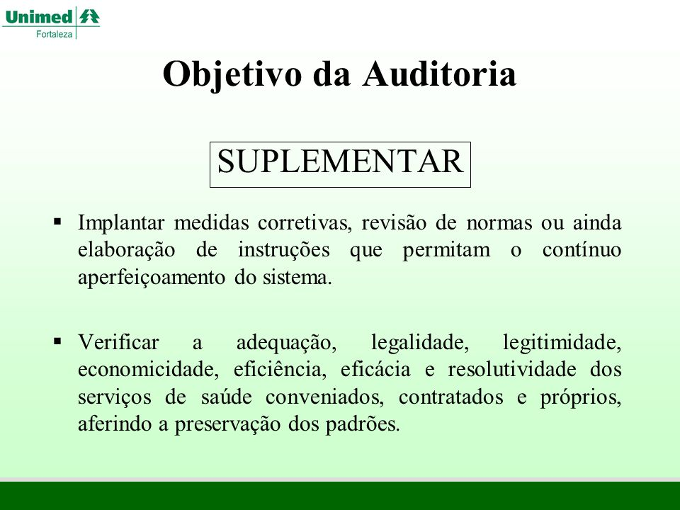 PERFIL DO AUDITOR