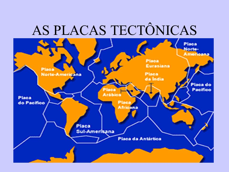 17 AS PLACAS TECTÔNICAS
