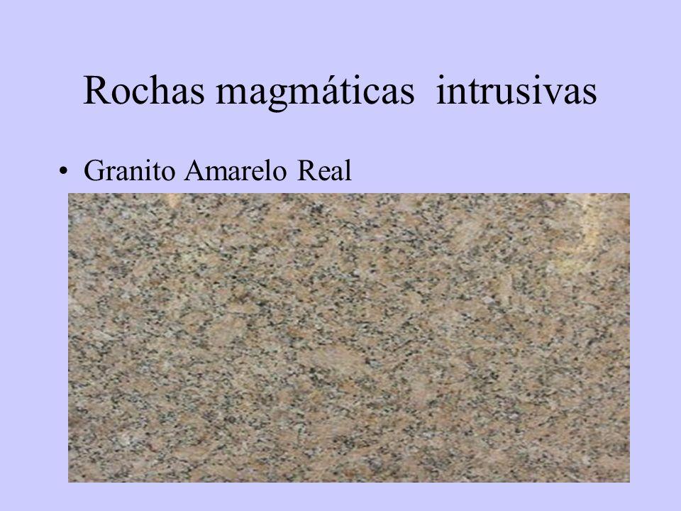 43 Rochas magmáticas intrusivas Granito Amarelo Real