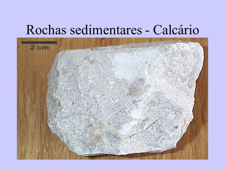51 Rochas sedimentares - Calcário