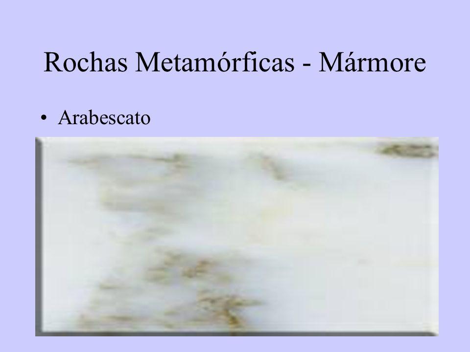 58 Rochas Metamórficas - Mármore Arabescato