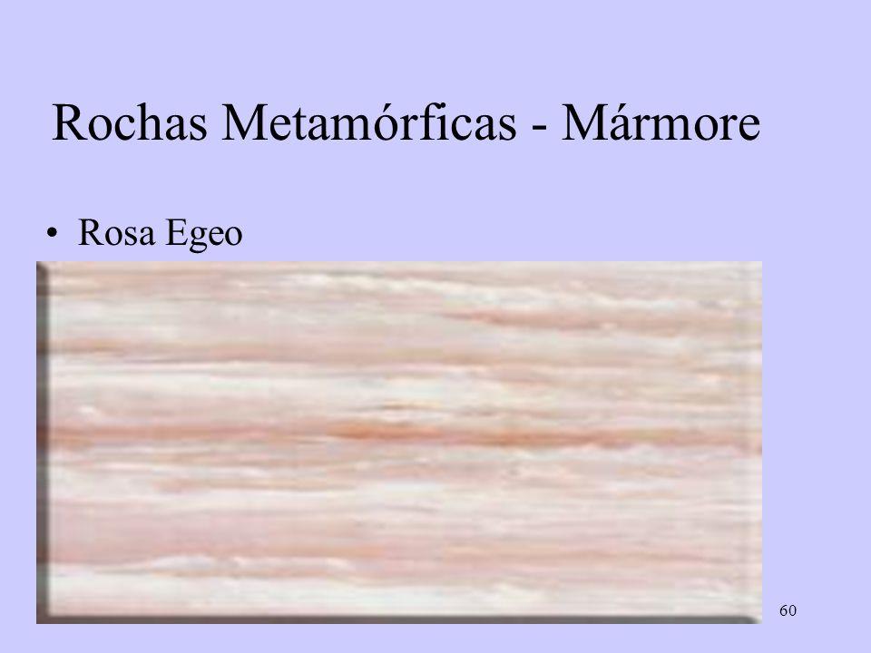60 Rochas Metamórficas - Mármore Rosa Egeo