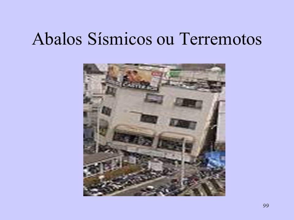 99 Abalos Sísmicos ou Terremotos