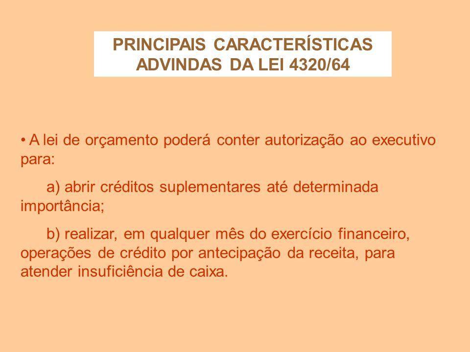 Não são consideradas como receitas as operações de crédito por antecipação de receita, as emissões de papel- moeda e outras entradas compensatórias no