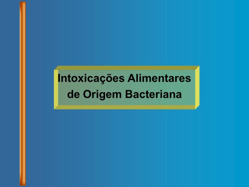 Intoxicações Alimentares de Origem Bacteriana