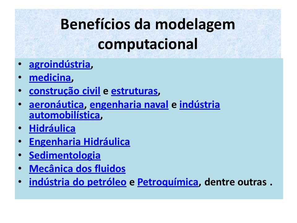 Métodos e Técnicas Alguns dos métodos estudados na modelagem computacional são: Métodos dos Elementos Finitos, Métodos dos Elementos de Contorno, Método dos Volumes Finitos, Métodos das Diferenças Finitas, Método Integral e Variacional, Métodos Autoadaptativos, computação distribuída, Redes e Grids Computacionais, Computação Vetorial e Paralela Aplicada, Pré e Pós-processamento Gráfico e Otimização, Sistemas de Orientação Espacial, Modelagem do Espaço Humano, Simulação Computacional, realidade virtual e Protótipos Computacionais.Elementos FinitosElementos de ContornoVolumes Finitos Diferenças FinitasMétodo IntegralVariacional Métodos Autoadaptativoscomputação distribuídaRedes e Grids Computação VetorialParalelaPré e Pós-processamentoGráficoOtimizaçãoOrientação Espacial Espaço Humano realidade virtualProtótipos Computacionais