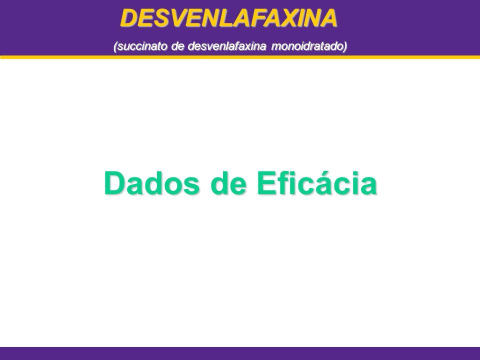 Dados de Eficácia DESVENLAFAXINA (succinato de desvenlafaxina monoidratado)