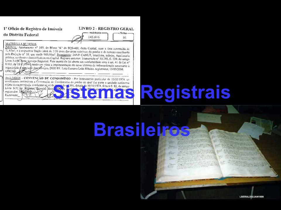 Sistema do Fólio Pessoal (Decreto nº 4.857) O Decreto nº 4.857/39 foi o primeiro diploma legal que normatizou, de maneira completa, os REGISTROS PÚBLICOS.