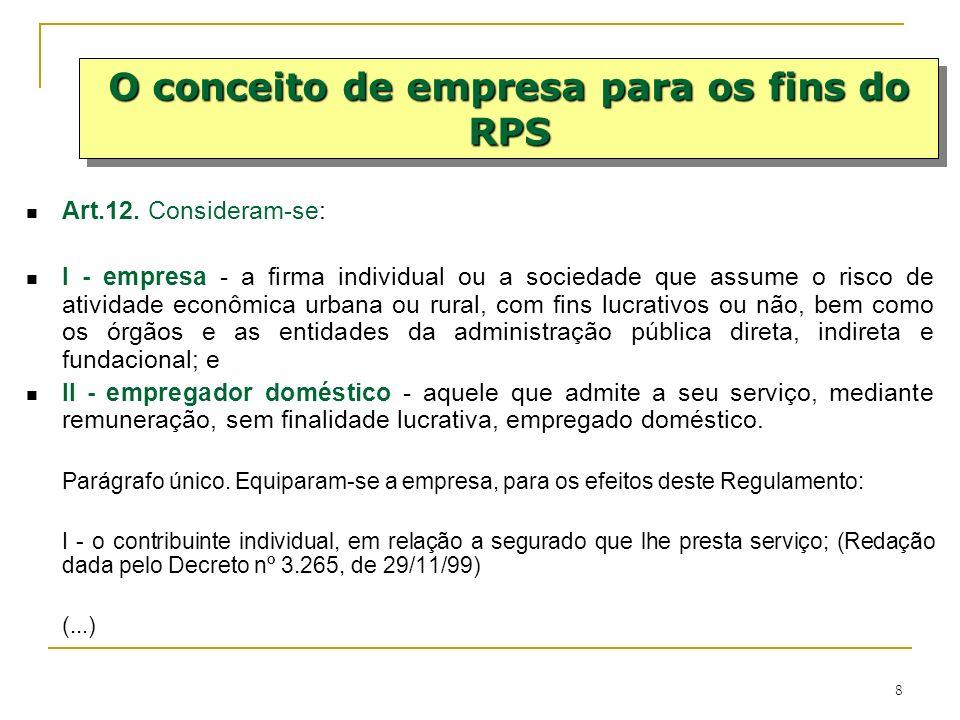 19 Certidão Específica: Secretaria da Receita Federal do Brasil (RFB), em relação às contribuições de que tratam os incisos I, III, IV e V do parágrafo único do art.