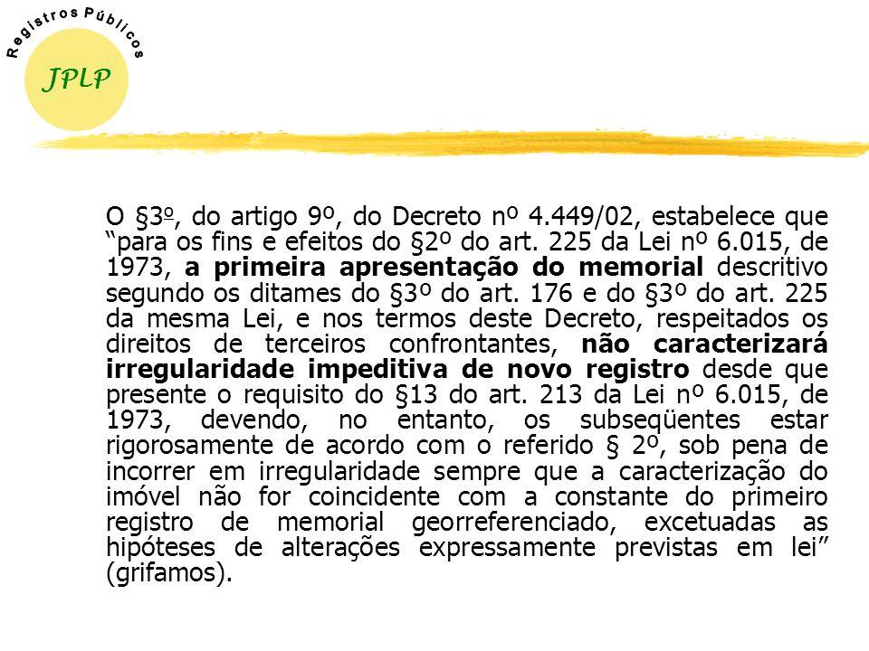 A fim de atender efetivamente ao propósito da lei, foi prevista a isenção de custos para a realização do GEORREFERENCIAMENTO para os proprietários de