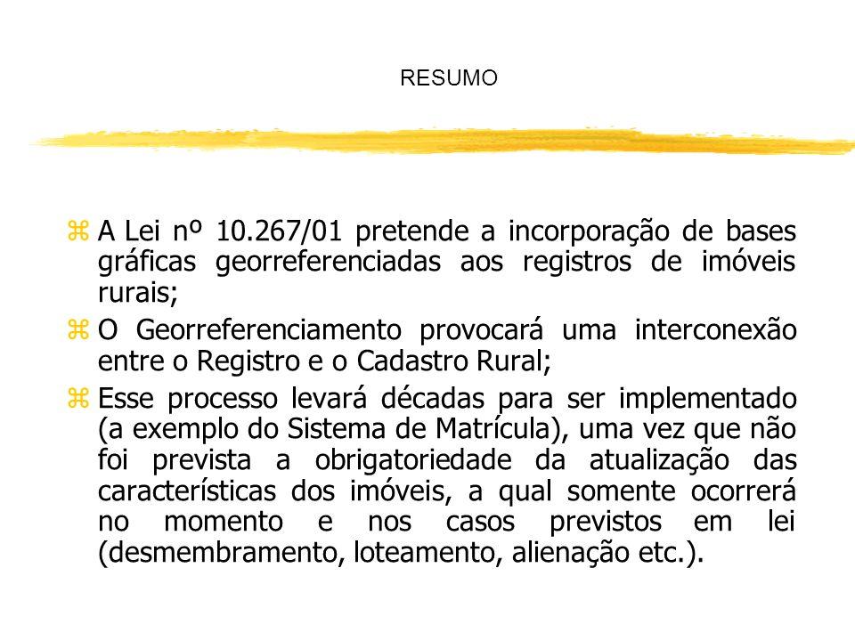 De acordo com a Lei nº 10.931/04, que alterou o procedimento de retificação no Registro Imobiliário previsto nos artigos 212 ao 214 da LRP, importa es