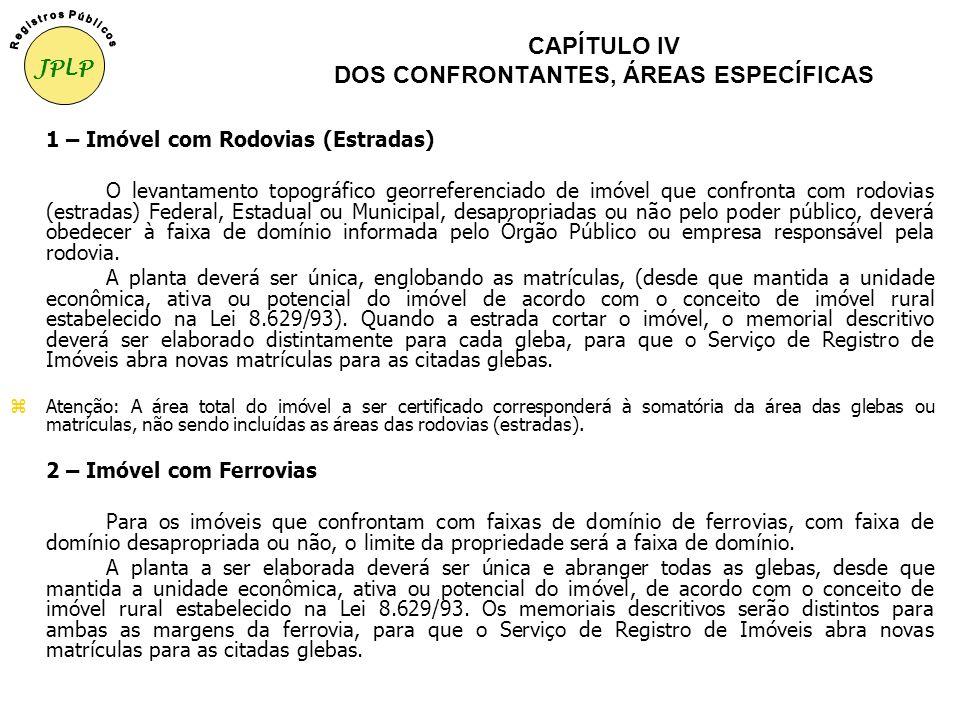 CAPÍTULO III DA ANÁLISE CARTOGRÁFICA 3. Matrículas ou transcrições As cópias autenticadas de todas as matrículas ou transcrições que compõem o imóvel