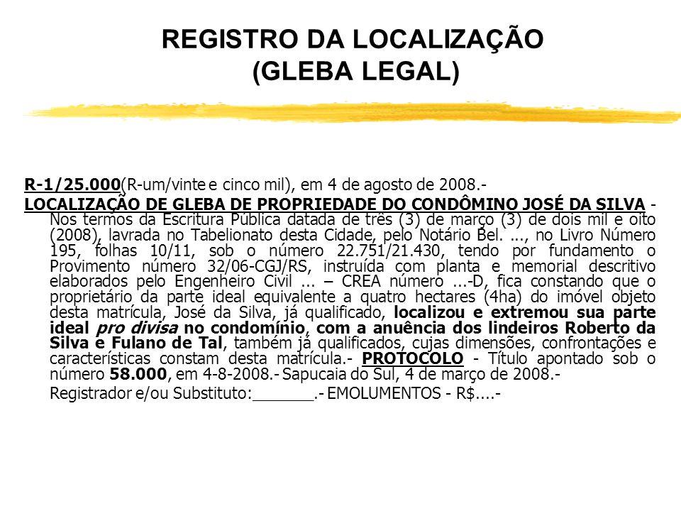 CONTINUAÇÃO DA MATRÍCULA 25.000 (FICTÍCIA) INCRA – Cadastrado no INCRA, sob o número 8162430033742, com a denominação de Chácara Verde, neste municípi