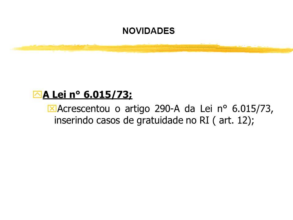 yA Lei n° 9.514/97; xAlterou o parágrafo primeiro do artigo 22 da Lei n° 9.514/97, inserindo no referido parágrafo : (...) podendo ter como objeto alé