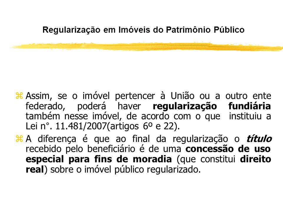 O Procedimento de Regularização Fundiária de Interesse Social (Art. 56) zNa ausência de manifestação nesse prazo, o poder público prosseguirá a demarc